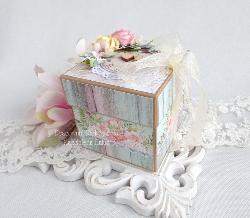 Ślubny exploding box 216 -