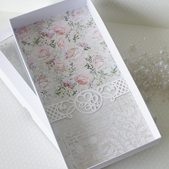 Personalizowana kartka ślubna DL -v.15 - ul1a