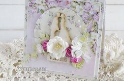 W dniu Ślubu, kartka w pudełku, 609