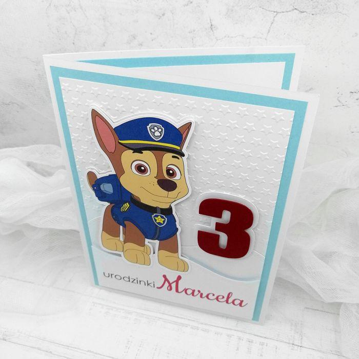 Kartka minimalistyczna Psi Patrol UDP 026 -