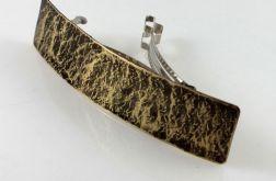 Kamień - mosiężna klamra 200613-01