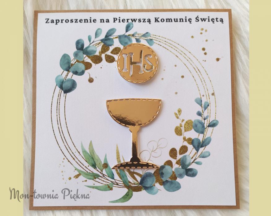 Zaproszenia na I Komunię Św. wz9 - 9b