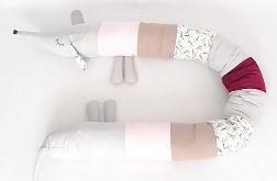 Jamnik ochraniacz do łóżeczka prezent nr11