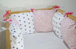 Modułowy ochraniacz do łóżeczka 6 szt N19