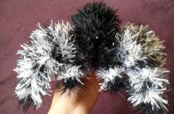 Maskotka szydełkowa - pająk
