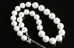 Białe perły - naszyjnik