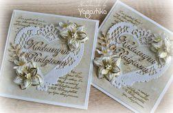 Kartka ślubna Zaproszenie dla Rodziców WZÓR