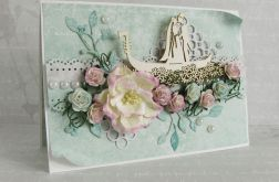 Para na gondoli 1 - ślub na miętowo