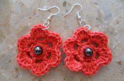 Czerwone kwiatuszki