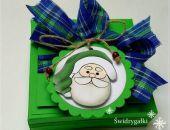 Ozdobne pudełeczko świąteczne