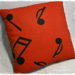 Muzyka II - poduszka dekoracyjna