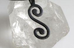 Zawijas - srebrny wisior 140617-01