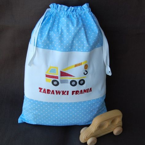 Dźwig - worek na zabawki