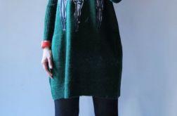 Sukienka oversize z kieszeniami 06