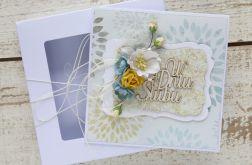 Kartka ślubna z personalizacją + pudełko b7