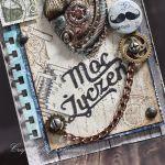 Moc życzeń - serce w stylu steampunk - Serce steampunk- detal II