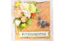 Kartka na ślub lub urodziny/imieniny - #696