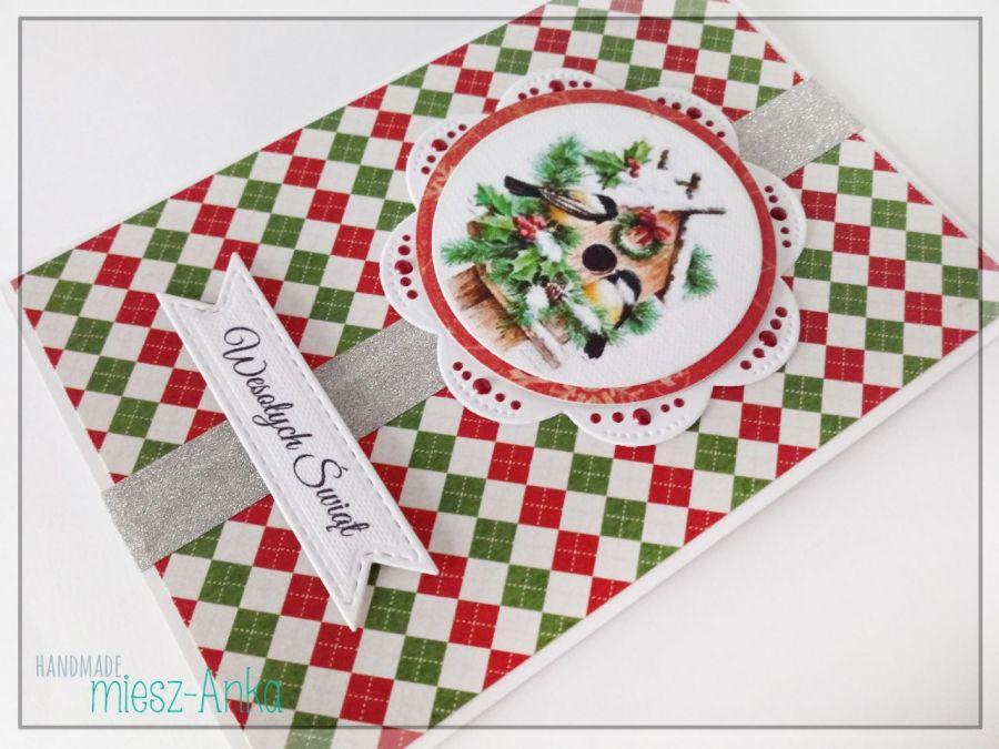 Wyjątkowe KARTKI ŚWIĄTECZNE - 26 - Boże Narodzenie, bożonarodzeniowe, święta