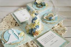 Z tortem na ślub - box na zamówienie