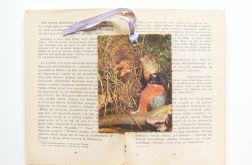 Zakładka do książki - ptaszki 2
