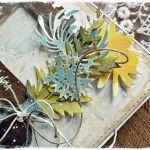 Rocznica Ślubu - kartka ręcznie malowana -