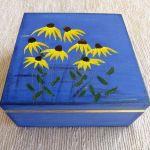 Herbaciarka kwadratowa malowana- Jeżówka - kobalt