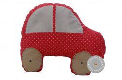 poduszka + poszewka auto czerwona