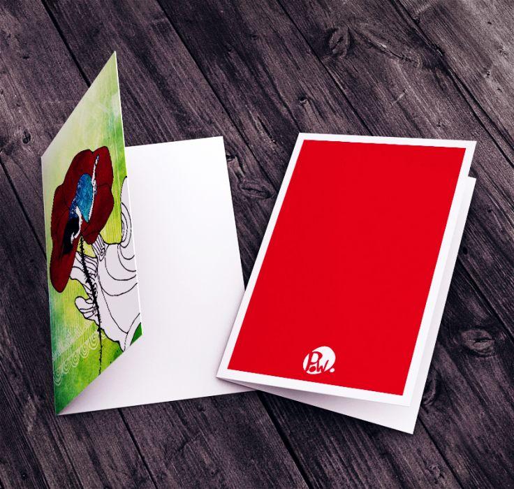 Karteczka na życzenia dla dziewczynki...