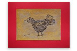 Ptaszek 16 - rysunek dekoracyjny