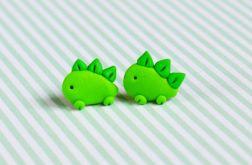 Zielone dinozaury- sztyfty