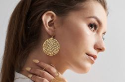 Komplet biżuterii w kolorze złota c675-klp
