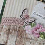 Kartka z okazji Dnia Babci motyl -