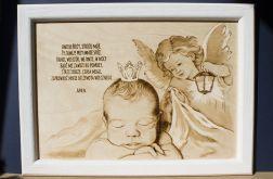 Anioł Stróż - obraz dziecięcy