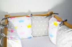 Modułowy ochraniacz do łóżeczka 6 szt N29