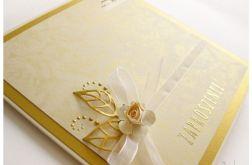 Złote zaproszenia