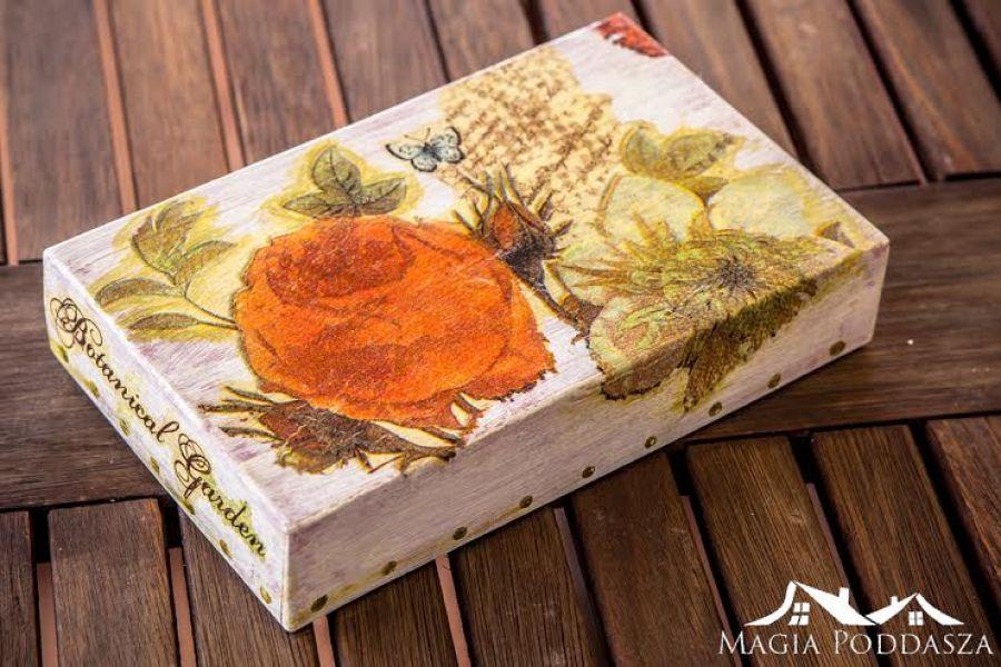 """Pudełko """"Botaniczny Ogród"""""""