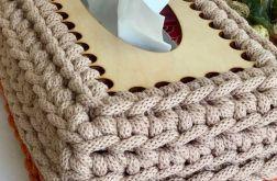 Chustecznik prostokątny late z dynią
