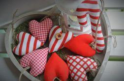 Ozdoby Świąteczne czerwono-białe