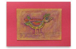 Ptaszek nr 5- rysunek dekoracyjny