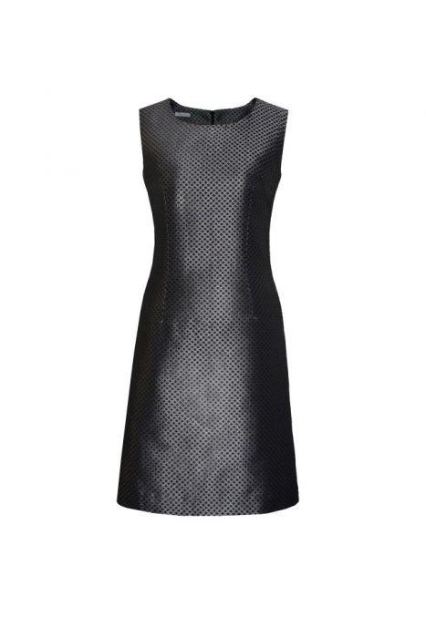 koktajlowa sukienka ZELINA - żakard