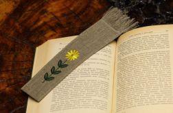 """zakładka do książki """" Żółty kwiatek"""""""