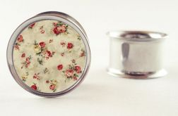 Na zamówienie : Plug floral kwiaty 16mm