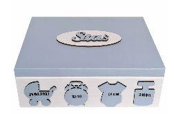 Pudełko wspomnień prezent na Chrzest- PW15