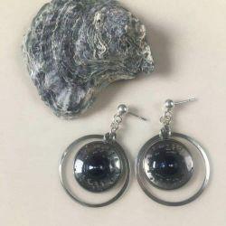 WYJĄTKOWE kolczyki z naturalnymi perłami