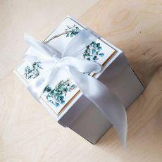 Kartki ślubne Exploding box ślubny #0003