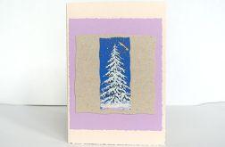 Kartka świąteczna  z choinką nr 5