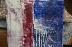 Obraz abstrakcja 50x80