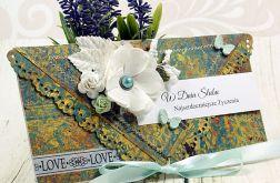 Kopertówka ślubna- kwiaty Persji