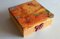Pudełko ozdobne dla dziewczynki