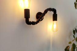 Snake - nowoczesna lampa ścienna industrialna